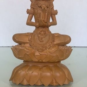 Tantra Gallery Accents - Tantra Gallery Mas Bali hand carved wood statue